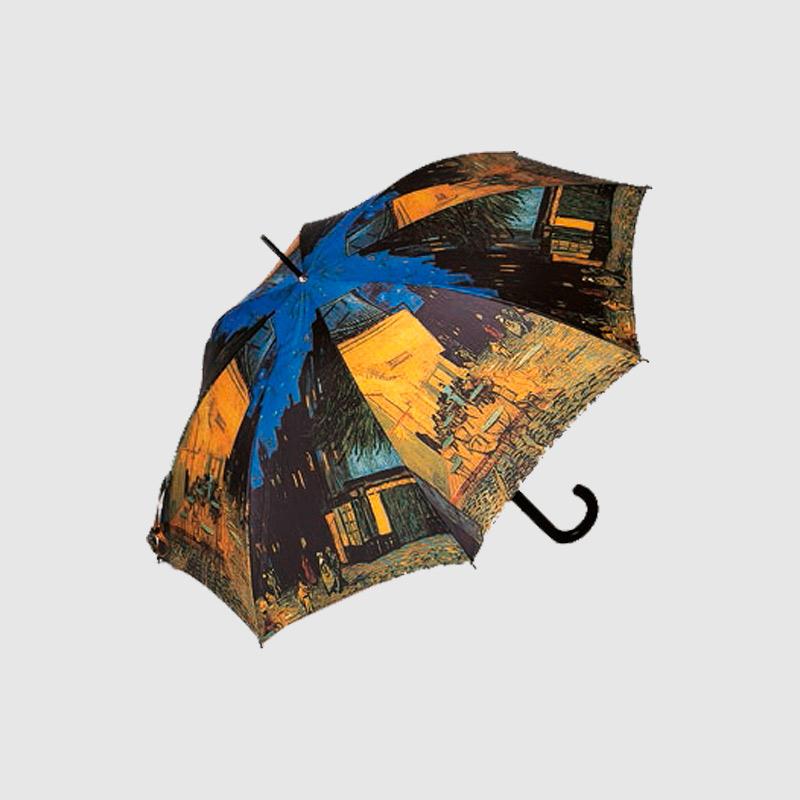 Paraguas Original Van Gogh Terraza De Café Por La Noche 74057q Marroquinería Y Maletas