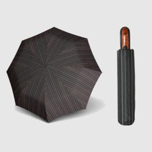 Paraguas plegable con funda hombre