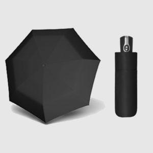 Paraguas de bolsillo abre cierra de la marca Doppler Carbonsteel