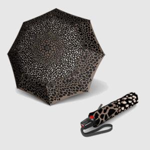 Paraguas Knirps antiviento apertura abre-cierra plegable estampado