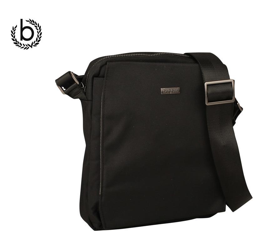 330f7337dcd80 Bandolera bolso para hombre de línea sencilla y elegante fabricado por la  marca Bugatti. La