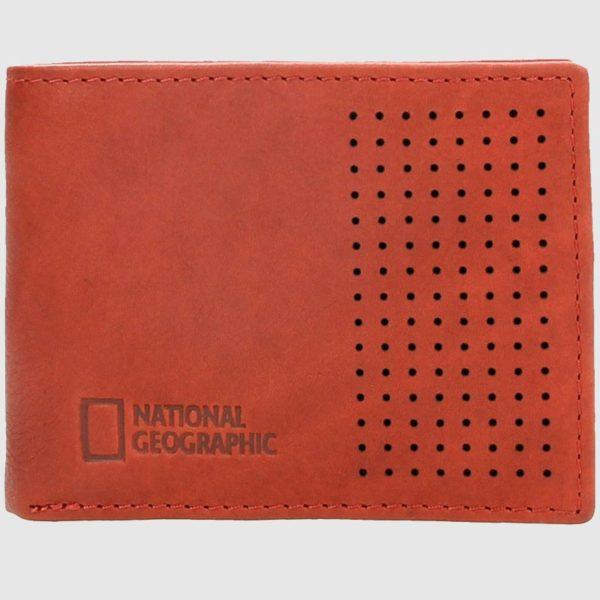 Presentamos este billetero de piel. Este modelo de marca National Geographic tiene un diseño original e único que hacen de este billetero una opción juvenil. Dispone de hasta 3 compartimentos para tarjetas