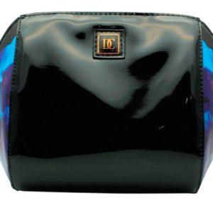 Bolsa de cosméticos Danielle que ha creado la colección Black Orchard para las más elegantes por la utilización de colores oscuros y su estampado de orquídeas