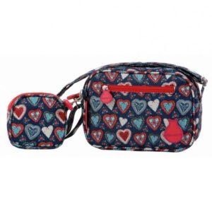 La nueva colección de maletas de viaje que ha preparado la marca Flamenco para esta temporada ha llegado pegando fuerte. Y es que la colección Triana llena de corazones allí por donde va.