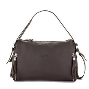 Elegante y original bolso de señora en cuero de primera calidad