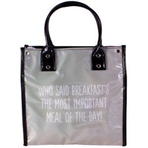 Bolso de viaje Danielle que ha diseñado una amplia colección llamada Lunch Totes de bolsas térmicas acondicionadas para llevar nuestros desayunos