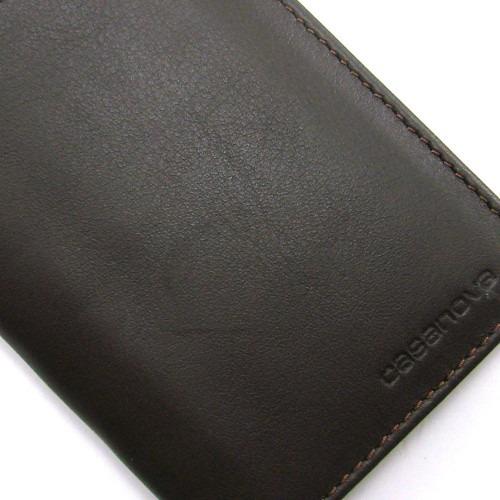 """Elegante cartera de hombre """"made in Spain"""" hecha con la mejor piel de vacuno de Ubrique por los artesanos de Casanova. Tiene capacidad para 6 tarjetas"""