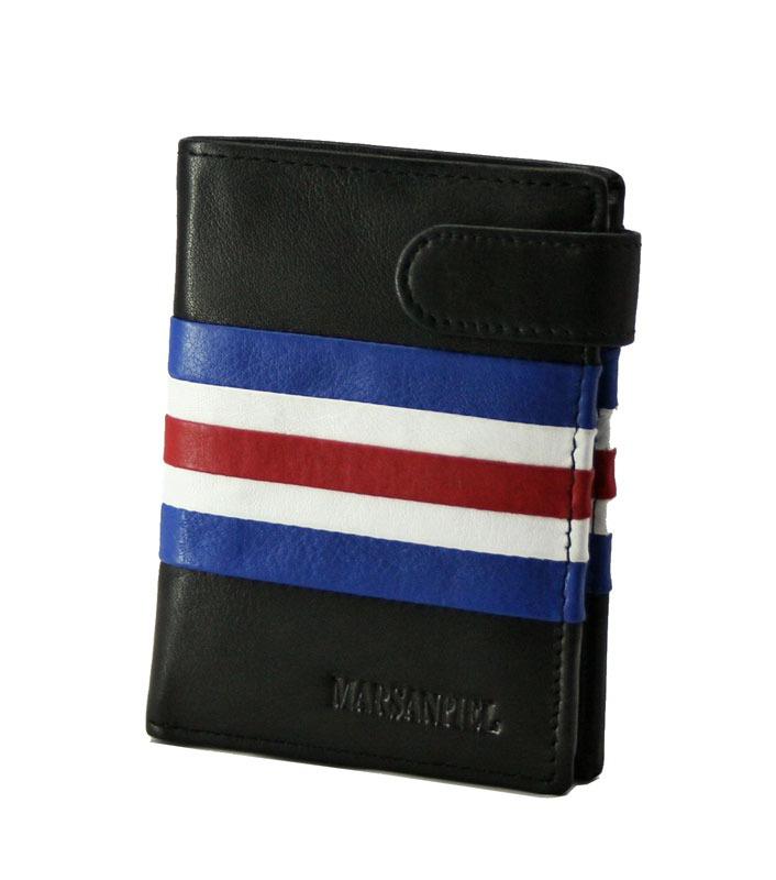 c7a146248a2 Esta cartera con monedero orginal de hombre estilo juvenil está fabricada  por Marsanpiel con la alta