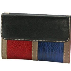 como es la de la piel de Ubrique. Esta cartera con monedero combina colores y pieles que le dan un aspecto inmejorable. Tiene espacio para 6 tarjetas