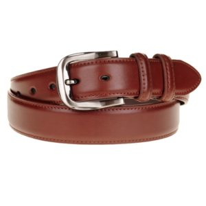Este cinturón de piel fabricado por Marsanpielpone de manifiesto que la elegancia nunca pasa de moda. Con este cinturón tendrás un complemento atemporal que vestirás con todos tus pantalones sin desentonar nunca.