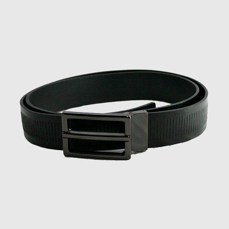 90692b52 Cinturón de piel para hombre moderno de chapa