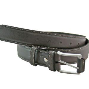 Cinturón de piel para hombre fabricado en España