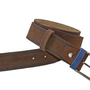 Con un cinturón de piel como este