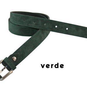Cinturón de pieltipo serraje para niños y niñas de calidad fabricado en España. La piel vuelta o serraje es una piel de moda tanto y calzado como en complementos como el cinturón