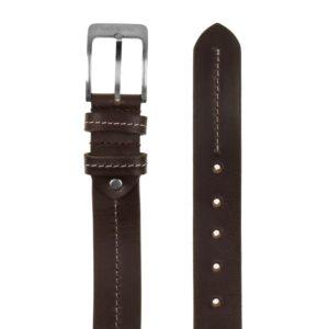 Este excepcional cinturón de piel combinará genial usándolo con tus vaqueros. Fabricado por la marca Marsanpiel con una piel vacuno de calidad