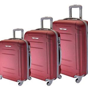Conjunto de 3 maletas Artvi prácticas para cualquier viaje con sus ruedas multidireccionales