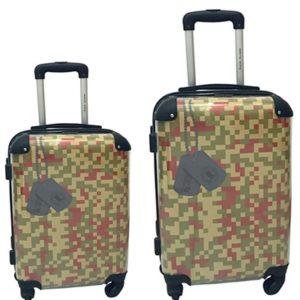 Conjunto de maletasCoronel Tapiocca. La colección Ikase se caracteriza principalmente por su diseño original y exclusivo. Cuenta con un interior frabricado con materiales de primera calidad