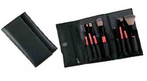 Este estuche de brochas y pinceles para maquillaje está compuesto por 8 piezas de gran calidad para conseguir unos resultados profesionales a la hora de maquillarte. Con varios tipos de pinceles