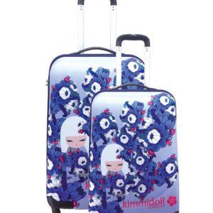 Juego de maletas baratas de la marca Kimmidoll. La nueva colección Hitomi te conquistará con su diseño alegre y primaveral