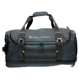 Macuto de viaje National Geographic que ha creado este magnífico bolso para hombres de la colección Expedition que cuenta con compartimento interior expansible