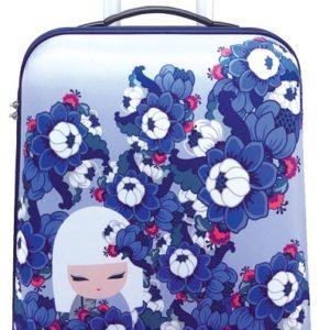 Maleta de cabina de la marca Kimmidoll. La nueva colección Hitomi te conquistará con su diseño alegre y primaveral