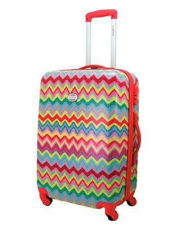Maleta de cabinaFlamenco. La colección Samba te acompañará durante largas temporadas en tus viajes debido a que son muy resistentes y flexibles