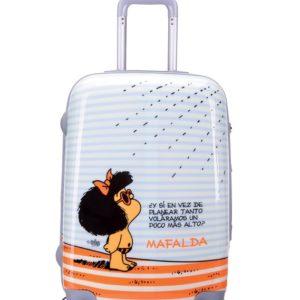 Maleta de cabina de viaje Mafalda. Tus viajes y tus escapadas no volverán a ser iguales con estas magníficas maletas. Además de la calidad de sus acabados