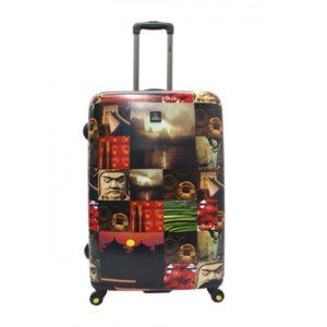 """La colección """"Cities"""" de National Geographic nos deja esta original maleta de viaje tamaño mediano con aire asiático que nos muestra imágenes de China. La calidad de sus materiales"""