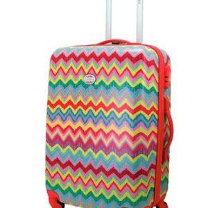 Maleta mediana de la marca Flamenco. La nueva colección Samba ha creado maletas originales y coloridas