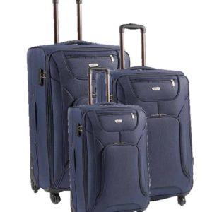 Maletas trolleys de viaje grandes Artvi. Casual es la colección de maletas en la que prima el apartado práctico sobre todos los demás. Con 4 ruedas para mayor movilidad y bolsillos con cremalleras exteriores