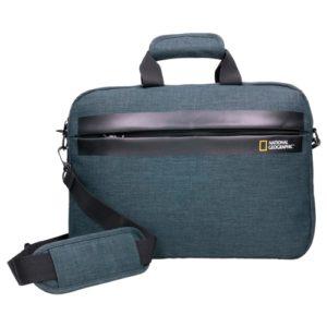 Maletín portátilde National Geographic que nos presenta este modelo de la colección Stream. Es un maletín ordenador con asa y bandolera ajustable para colgar. Además es un complemento muy práctico
