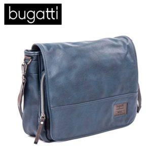 Messenger bag con diseño original de la marca Bugatti. Esta bandolera para hombre está siendo uno de los complementos de moda del año. Tiene el espacio suficiente para llevar todo lo que necesitas en tu día a día