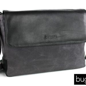 El messenger bag que nos presenta la marca Bugatti dentro de la colección Urbano posee esa estética de moda casual que puede valer para para cualquier ocasión. Con un interior donde podrás guardar tu portátil