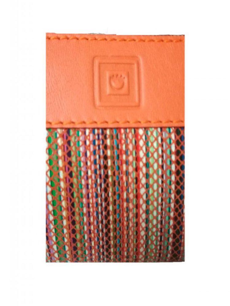 987b19d42 Monedero de piel de mujer confeccionado por la firma Casanova y fabricado  en España. Es