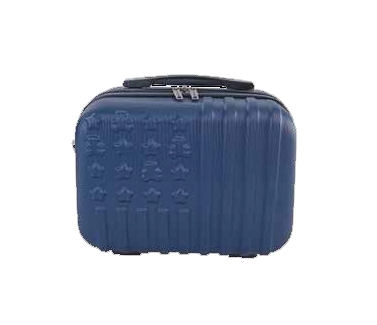 Este estupendo neceser para viajeforma parte de la colección Atacama de la marca Lulucastagnette. Esta colección tiene maletas de todos los tamaños además del neceser. Está fabricado con un material rígido muy resistente y tiene un interior donde podrás guardar todos tus productos de higiene y cosmética.