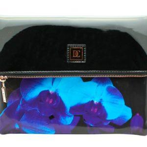 Neceser de cosméticos Danielle que ha creado la colección Black Orchard para las más elegantes por la utilización de colores oscuros y su estampado de orquídeas