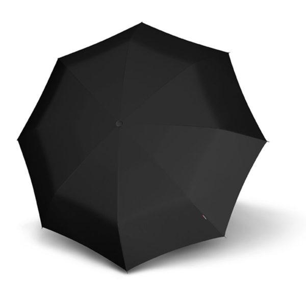 El nuevo paraguas creado por la marca del punto rojo (Knirps) es una revolución. Una montura más flexible
