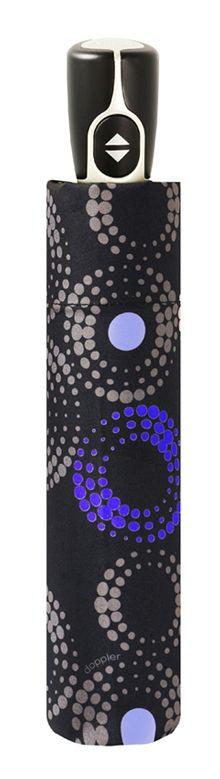 Paraguas abre y cierra marca doppler que ha diseñado la colección fiber sofia para llenar nuestros días de invierno de color y alegría. Con sus varillas de fibra y aluminio nos protegerá al máximo de las fuertes lluvias. Cuenta con apertura abre y cierre para facilitar su manejo. Disfruta de la lluvia con paraguas doppler.