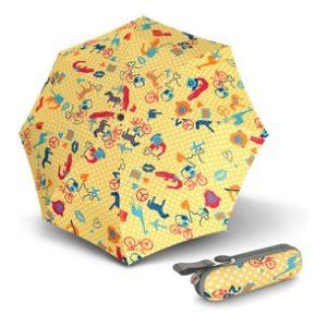 Paraguas antiviento con protección solar de la marca punto rojo