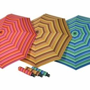 Paraguas antiviento con varillas de fibra marca Doppler. El paraguas que presentamos es un modelo muy bien aceptado por el público ya que tiene varias características bien valoradas; antiviento