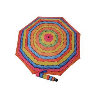 Podrás volver a disfrutar de la moda con este magnífico complemento de la marcaDoppler. Con este original paraguas de mujer de diseño abstracto