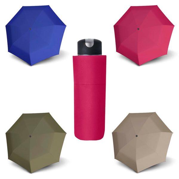 Los nuevos paraguas cortos plegables de doppler llegan al mercado para maravillarnos con su tamaño mini y sus colores lisos