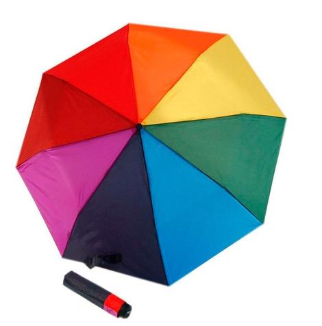 precio de descuento hermosa en color venta caliente barato Paraguas de colores doppler derby hit rainbow - Marroquinería y Maletas