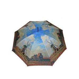 Este fantástico paraguas forma parte de la colección Art de  Doppler donde utilizan el famoso cuadro del pintor francés Claude Monet