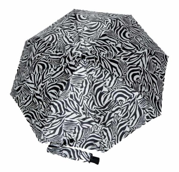 paraguas de mujer animal print cebra doppler