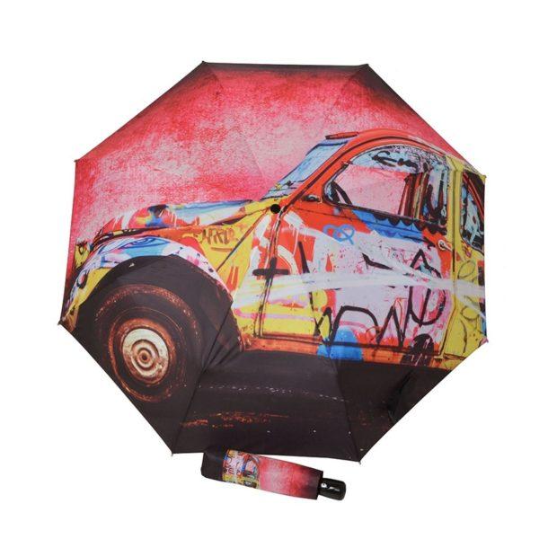 Original paraguas de mujer de gran diseño y realizado con las mejores calidades del mercado. Una vez más