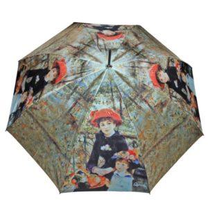 Hermanas. El paraguas además no está exento de calidad