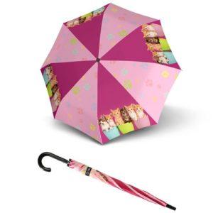 Paraguas infantil marca doppler que ha elaborado la colección Art Collection Kids para enamorar a las princesitas de la casa. Es un paraguas resistente