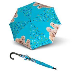 Paraguas infantil marca doppler que ha elaborado la colección Art Collection Kids para enamorar a los reyes y reinas de la casa. Es un paraguas resistente