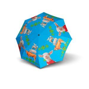 Paraguas infantiles animales marca doppler que ha elaborado la colección Art Collection Kids para enamorar a los reyes y reinas de la casa. Es un paraguas resistente
